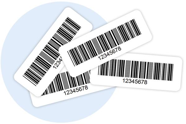 Etykiety inwentaryzacyjne do programu Evimaster