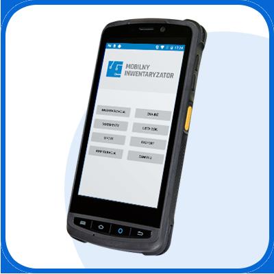 Mobilny kolektor danych do inwentaryzacji