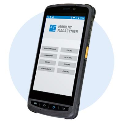 Mobilny kolektor danych Newland - kody kreskowe