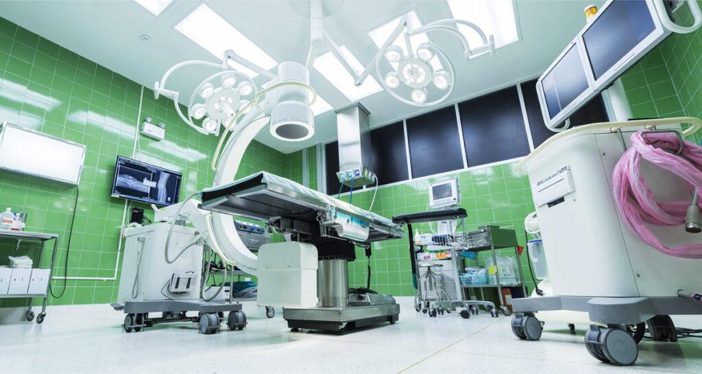Ewidencja zasobów w szpitalu i służbie zdrowia